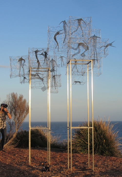 Barbara Licha_Tenants_Sculpture by The Sea Bondi 2017